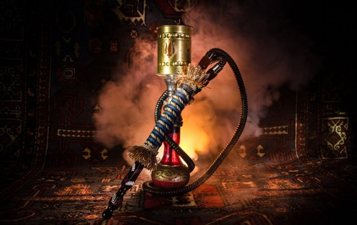 An Ornate Hookah Pipe